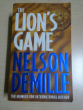 The lion's game - Nelson Demille ( limba engleza, lb. eng. ), Alta editura