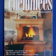 MAGAZIN SEMINEE ( REVISTA ) - CHEMINEES MAGAZINE NR.37 - PARIS - 1989 - Carte amenajari interioare