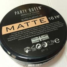 Fond de ten mat, Foundation, Party Queen Miracle touch MATTE, Lichid