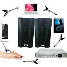 Cumpara ieftin BOXE ACTIVE/AMPLIFICATE,PERECHE CU MIXER INCLUS,MP3 STICK USB/CARD,PUTERE 300WATT,EFECTE VOCE+2 MICROFOANE BONUS.