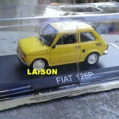 Macheta Fiat 126P + Revista DeAgostini Masini de Legenda nr.34