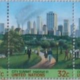NATIUNILE UNITE 1996 - NATURA,ANIMALE,PASARI,ORASE 5 VALORI, NEOBLIT.- E1650