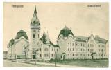 1691 - TIMISOARA, Piarist high school - old postcard - used - 1927