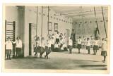 554 - TIMISOARA, high school, gym class - old postcard - unused
