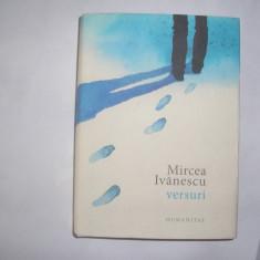 Mircea Ivanescu - Versuri - - Carte poezie