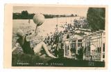 873 - Timisoara, STRAND - old postcard, real PHOTO - used - 1940