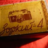 Cutie carton si panza- pt. Aparat Foto Zorki 4 URSS