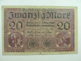 GERMANIA - 20 MARCI - FEBRUARIE 1918