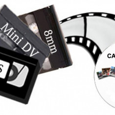 Copiez / transfer de pe casete video pe dvd