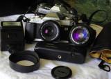 Obiectiv 50/1.8 SC Canon FD  sigma 28-70 MC, Canon - EF/EF-S