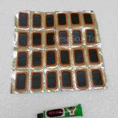 Set Petice / Petic + lipici pentru lipit camere / camera Moto Scuter 24mmx40mm
