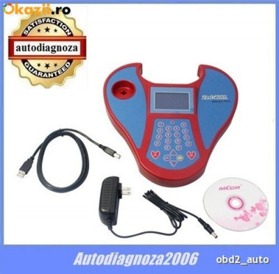 ZedBull programator chei - mini Zed Bull key -  Multimarca de chei auto foto