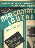273 PARTITURA antebelica- Mi-a cantat un lautar -creeat de Titi Botez -tango-romanta- N.Vladoianu, N.Constantinescu -Ion Vasilescu-starea care se vede