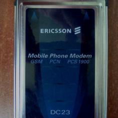 Modem / FAX Ericsson DC23 PCMCIA, 3G/ GPRS Data