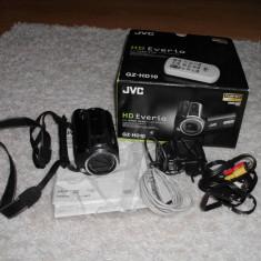 JVC GZ-HD10 ( gz hd10 ) - Camera Video JVC, 2-3 inch, Hard Disk, CMOS, 10-20x