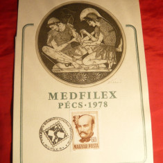 Gravura - Expozitie Medfilex 1978 ,smnat Kekesi Laszlo