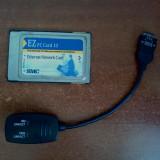 Placa retea LAN PCMCIA SMC - Adaptor PCMCIA, Network/ Ethernet/ LAN