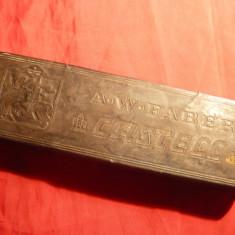 Cutie tabla Firma Creioane inc.sec.XX, Germania A.W.Faber Castell, L= 18 cm