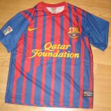 Tricou F.C Barcelona Nr. 7 David Villa  marimea M  7 Nike  (original)