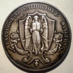 5.363 MEDALIE FRANTA UNIVERSITE CATHOLIQUE D'ANGERS J. DUBREUIL 1937 BORREL ARGINT 47g/45mm, Europa