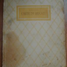 CARTE DE BUCATE - M. SEVASTOS . - Carte Retete traditionale romanesti