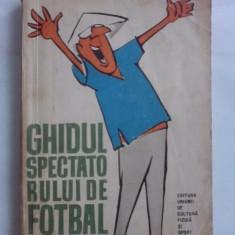 Ghidul spectatorului de fotbal  - Petre Gatu (ilustratii de Matty) / R2P2F
