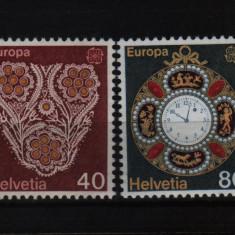 1976 elvetia mi. 1073-1074 conditie perfecta - Timbre straine