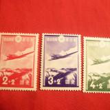 Serie Aviatie 1937 Japonia, 3 val.