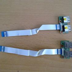 Conectori USB Hp DV6 - Cabluri si conectori laptop Compaq, Cabluri USB