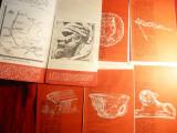Pliant vechi Prezentare Istorica si Turistica -Cetatile Dacice - 5 Cetati cu harti mici