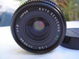 "Obiectiv foto Revuenon 2,8/35 baioneta ""K"" Pentax, Wide (grandangular), Manual focus"