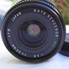 "Obiectiv foto Revuenon 2, 8/35 baioneta ""K"" Pentax - Obiectiv DSLR Pentax, Wide (grandangular), Manual focus, Pentax - K"