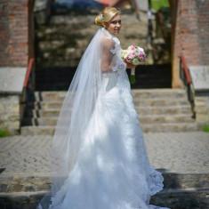 Rochie de mireasa + voal La Sposa, Rochii de mireasa sirena