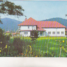 Bnk cp Tabara de copii de la Bucsoaia - Jud Suceava - circulata - Carte Postala Moldova dupa 1918