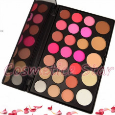 Trusa machiaj profesionala make up Fraulein 21 fard de obraz blush si 5 pudre - Trusa make up Fraulein38