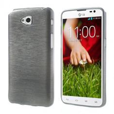 Carcasa LG G PRO LITE DUAL, TPU, Gri Semitransparent - Husa Telefon