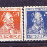 Timbre GERMANIA POST = H.V. STEPHAN (1831-1897), MNH.