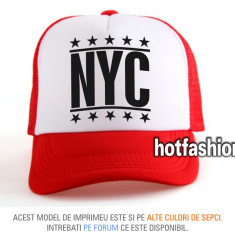 SAPCA, SEPCI TRUCKER, cu plasa, snapback - NEW YORK CITY - e x c l u s i v ! - Sapca Barbati, Marime: Marime universala, Culoare: Din imagine
