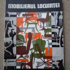 Mobilierul locuintei Nicolae Cucu caerte hobby mobila modele ilustrata amenajari - Carte amenajari interioare