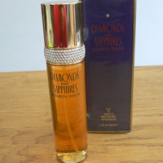 DIAMONDS AND SAPPHIRES de ELIZABETH TAYLOR APA DE TOALETA FLACON DE 100ML - Parfum femeie
