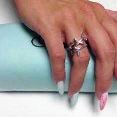 Inel dama argint 925, model Branch - Inel argint