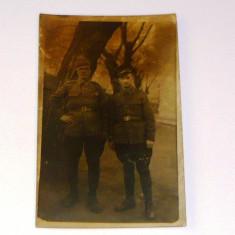 MOKAZIE! Fotografie veche anii 1910 - Barbati in uniforma - MILITAR - la pret final! - 2+1 gratis pt produse la pret fix - MOK248