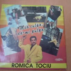ROMICA TOCIU Mea culpa da mi pulpa EUROSTAR records disc vinyl lp momente vesele - Muzica soundtrack, VINIL