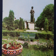 CP - Circulat - Ramnicul Valcea - Statuia lui Mircea cel Batran
