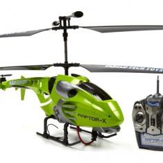 NOU ! ELICOPTER RAPTOR X CU ZBOR 3D SI 3.5 CANALE,ZBOARA CA UNUL REAL,ELICOPTER STAR TREK !
