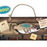 Suvenir pescar W#A tip cuier