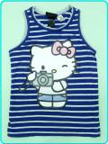 DE FIRMA → Tricou—maieu bumbac, Hello Kitty H&M → fetite   2—4 ani   98—104 cm
