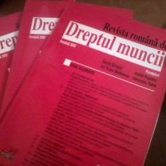 REVISTA ROMANA DE DREPTUL MUNCII - S  GHIMPU, ITSTEFANESCU,  diverse numere, Alta editura