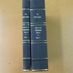 Gh. Dimitrescu Tratat de procedura civila 2 volume Bucuresti 1944 - 1945