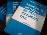 Principii si institutii  drept procesual civil 3 volume  Ioan Les, Alta editura